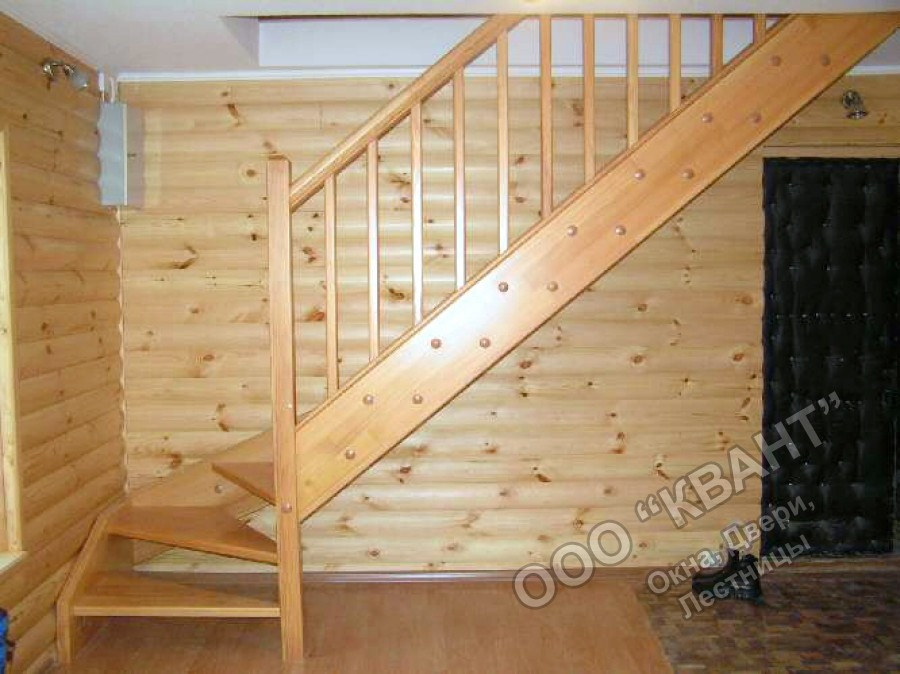 Лестница с перилами своими руками фото 785